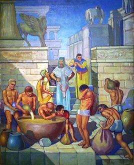 Ancient Babylonians would drown a brewer if he brewed a bad batch.