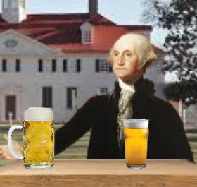George Washington had his own brewhouse on the grounds of Mount Vernon.