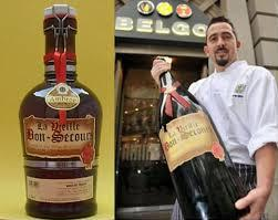 "The world´s most expensive beer is Belgium's ""Vielle Bon Secours"", costing around £636 ($1,000)."